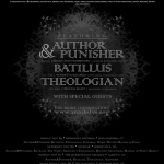 11/20 – Author & Punisher, Theologian + more