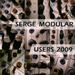 Serge Modular Users 2009 CD