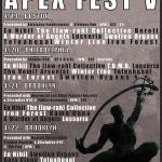 4/19 – APEX FEST V