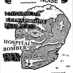 12/7 – Bastard Noise, Xiphoid Dementia + more