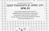 4/24: Lucien Shapiro (SF), Noah Bartel, FRKSE, Sea/// @ Deep Thoughts JP