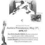 5/3: Tovarish, Lucien Shapiro (SF), FRKSE/Kay Belardinelli @ Aurora Providence