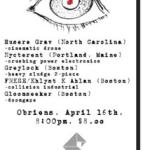 4/16 Husere Grav, Nycterent, Greylock + more