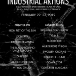 2/22 & 2/23 Industrial Aktions Festival 2019